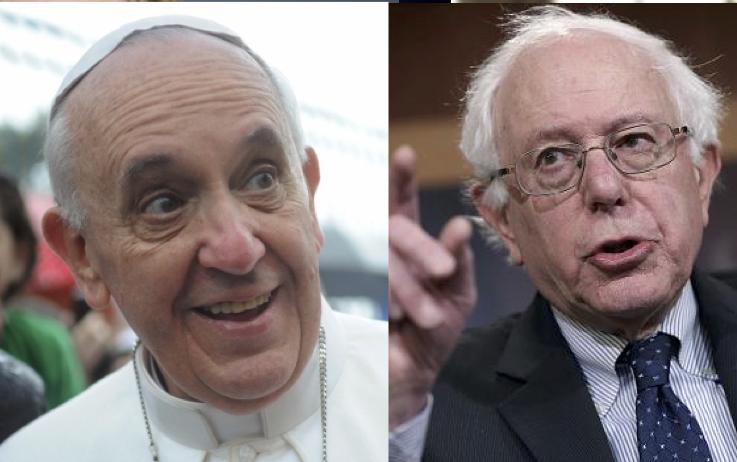 pope-francis-bernie-sanders
