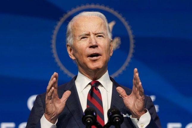 Help Is Here, Says Biden