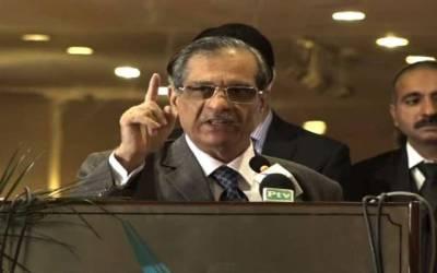 کراچی میں صفائی کی حالت دیکھ کر خوش ہوا اس کا کریڈٹ سندھ حکومت کو جاتا ہے، چیف جسٹس