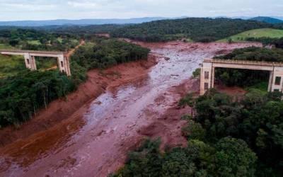 برازیل میں ڈیم ٹوٹ گیا ، ہر طرف تباہی ہی تباہی