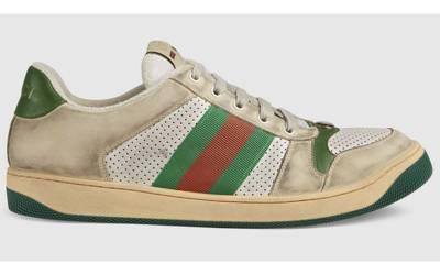 گندے سے ان جوتوں کی قیمت ایک لاکھ 20 ہزار روپے