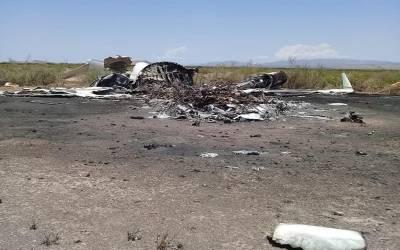 میکسیکو کا مسافر طیارہ گر کر تباہ، تمام مسافر اور عملے کے افراد ہلاک