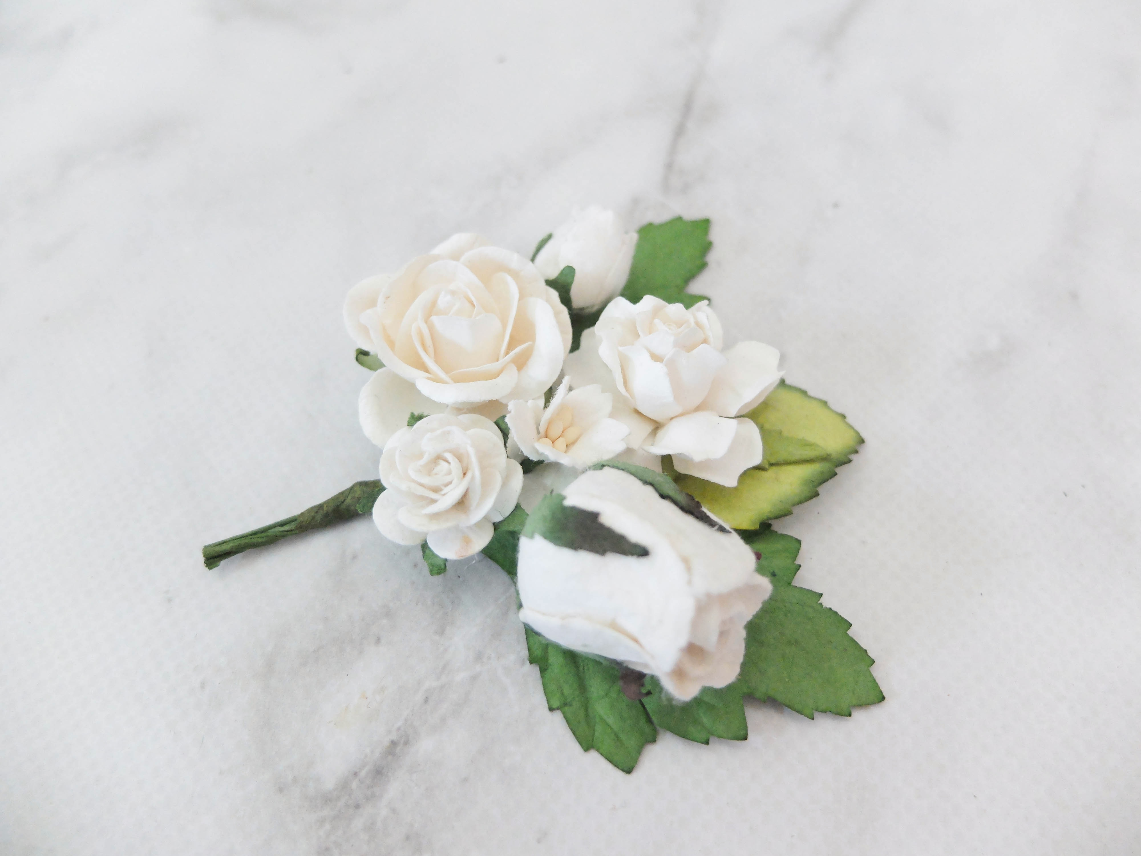 Wedding Flower Boutonnière