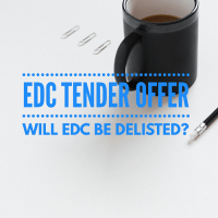 edc tender offer delisted