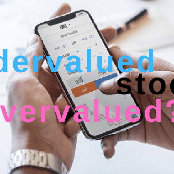 how to know if stocks are undervalued or overvalued