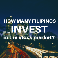 how many filipinos invest in the stock market