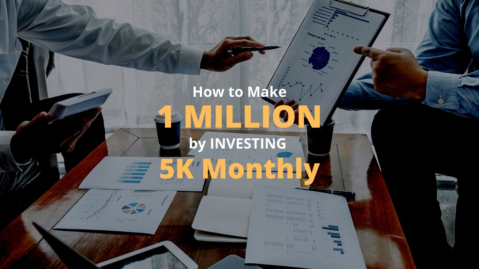 how to make 1 million by investing 5k monthly