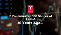 if you invested tesla stock 10 years ago