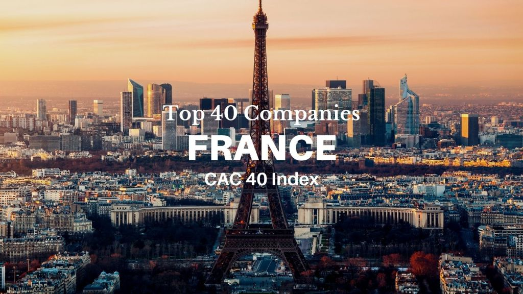 top companies of france 40 cac 40 index