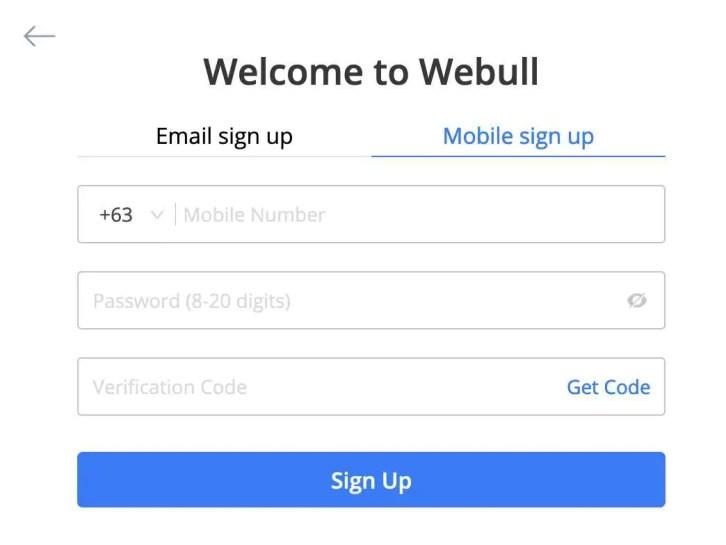 open webull account procedures