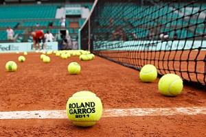 tennis balls roland garros french open