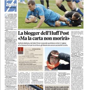 Daily Pinner La Nuova Sardegna Stefania Mattana
