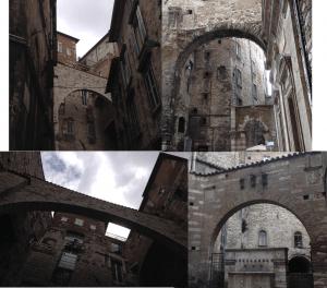 Etruscan arch Italy_arco etrusco in Italia