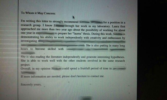 lettera di raccomandazione in inglese, fuga di cervelli, inglese vergognoso