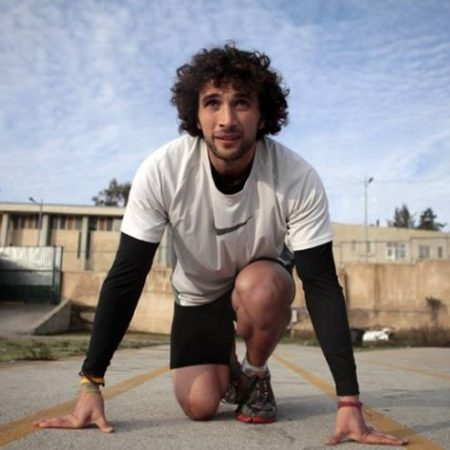 Mohammed Al-Khatib, spirito olimpico, motivation, Running for Palestine