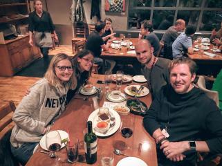 Dinner with Automatticians and CEO Matt Mullenweg - Automattic GM Whistler 2016