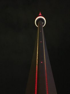 CN Tower, you're so perfect at night.
