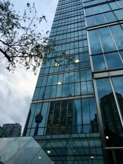 Reflections 🏙 #Toronto #Canada #traveling