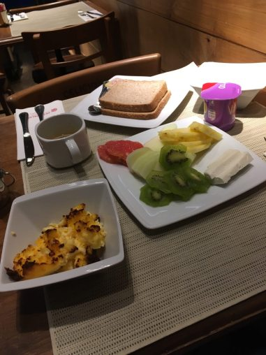 Balanced breakfasts kept me on track