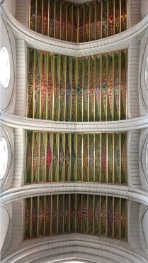Catedral de la Almudena ceiling
