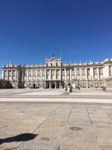 Palacio Real front entry