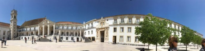 coimbra, university square