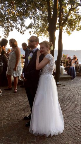 stefano e magda sposi