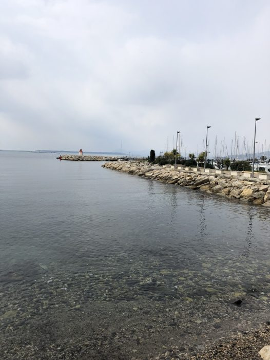 Antibes tiny port entrance - Antibes Water meetup 22-28.02.2018