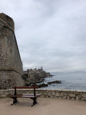 View of old Antibes from the waterfront
