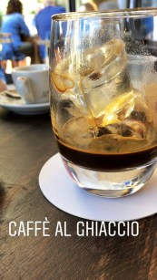 Caffe' al ghiaccio in Bari