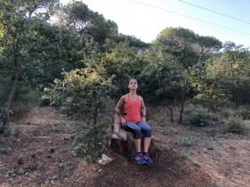 Me sitting my Ugolio throne