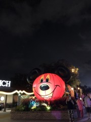 A Mickey Mouse lamp