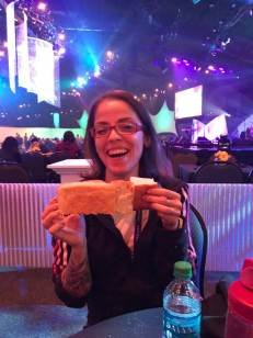 More good focaccia at the closing party