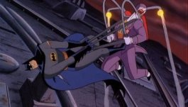Batman Mask of the Phantasm struggle