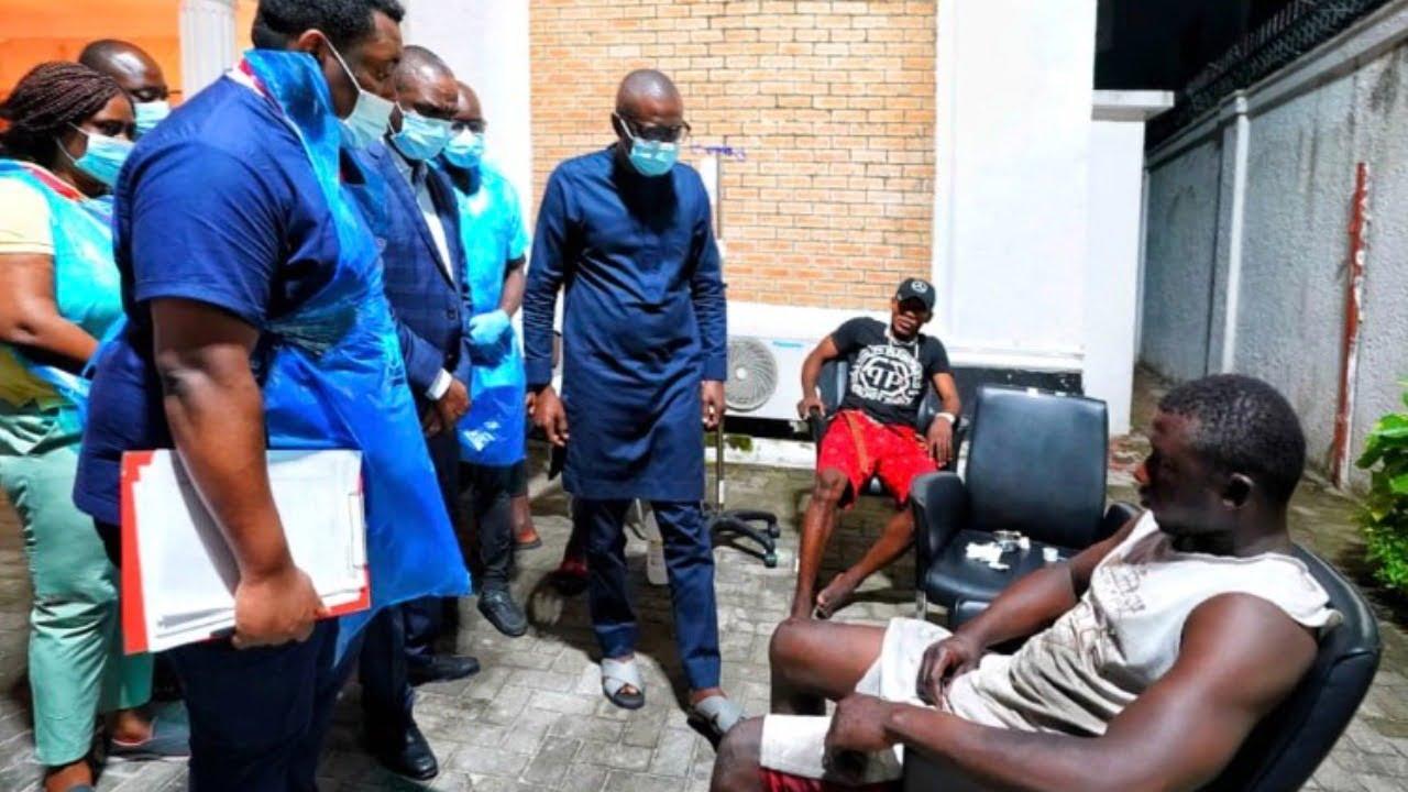 End SARS: Gov Sanwo-Olu visits victims, gives details on protesters shot 3