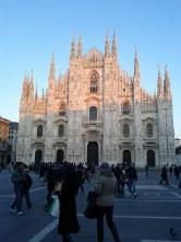 The Duomo of Milan in January 2012