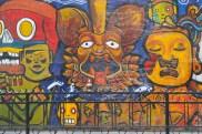 Street art in Mexico City, Mexico.