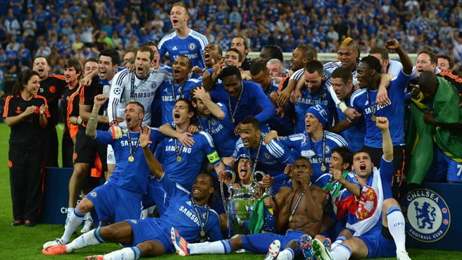 Up Blues! Chelsea defeat Bayern Munich to win first ...