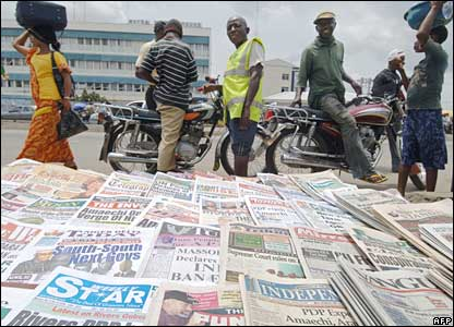 Image result for Nigerian Newspaper