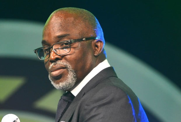 Pinnick 3 - Pinnick, Obaseki attend funeral mass for former NFF Vice President