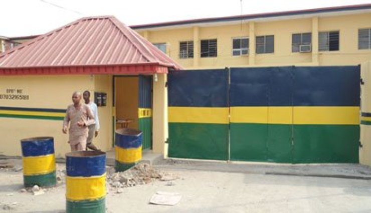 Image result for pictures of a Nigerian police station