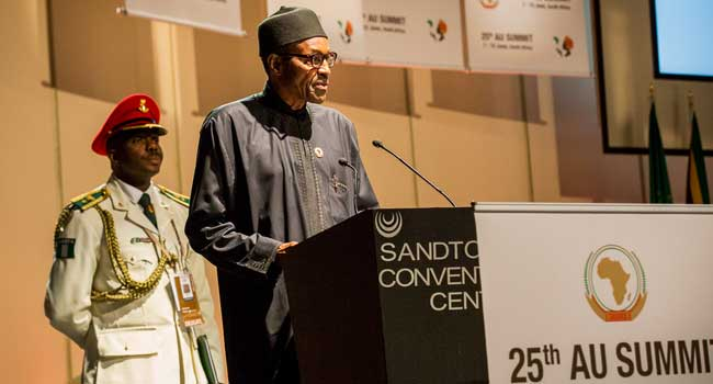 Buhari Speech AU Summit - Remarks of UNGA President, Amb. Tijani Muhammad-Bande, at the closing session of General Debate