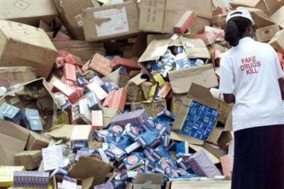 Image result for NAFDAC destroys counterfeit, other unregulated products