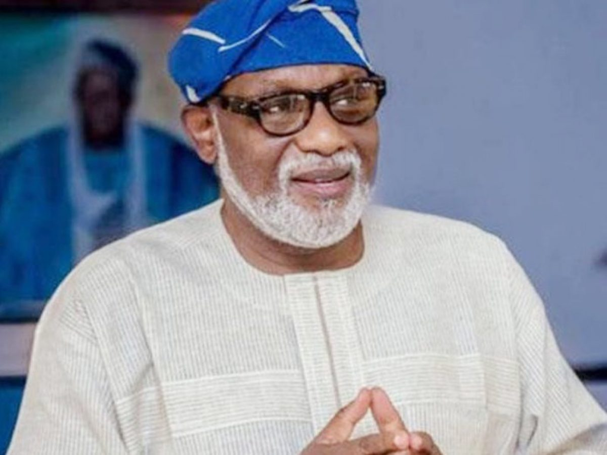 Gov. Oluwarotimi Akeredolu Of Ondo State Has Approved The Inclusion Of Two Additional Names In The Covid 19 Palliatives Committee. Mr Donald Ojogo, The Commissioner For Information And Orientation,