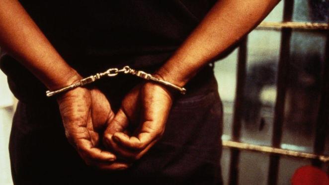 Image result for arrested hands nigeria