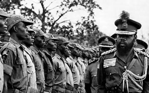 Image result for Coalition That Fought Biafra In 1967