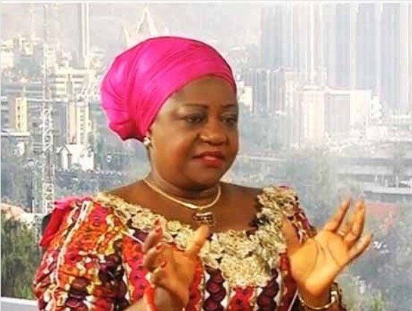 Image result for Lauretta Onochie congratulates Nigerians on Buhari's decision to contest again
