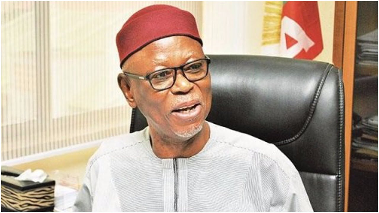 Oyegun - APC: Oyegun takes shot at Oshimhole over Obaseki