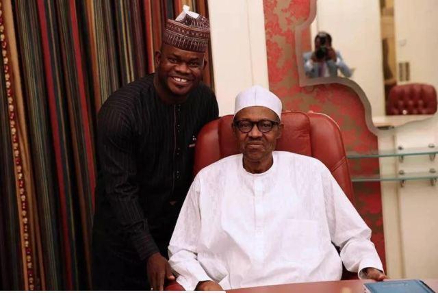 Image result for Yahaya bello and Buhari