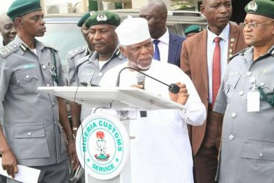 Image result for nigeria Customs boss